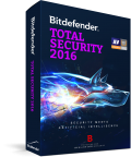 BitDefender Total Security 2016  (на 1 год, 3 ПК)