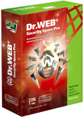 Dr.Web Security Space Pro (2 ПК/1год)