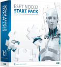 ESET NOD32 START PACK - на 1 год на 1ПК